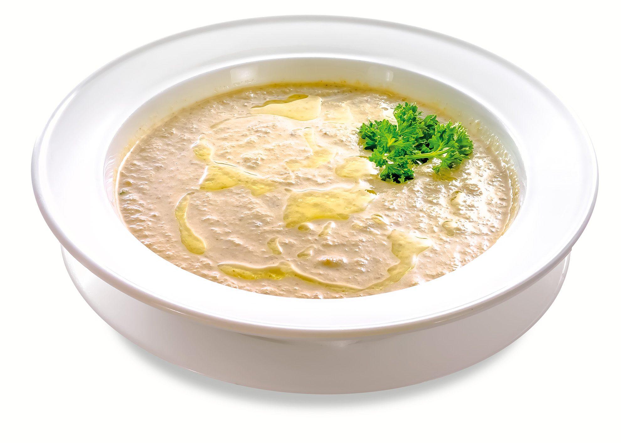Суп-крем грибний