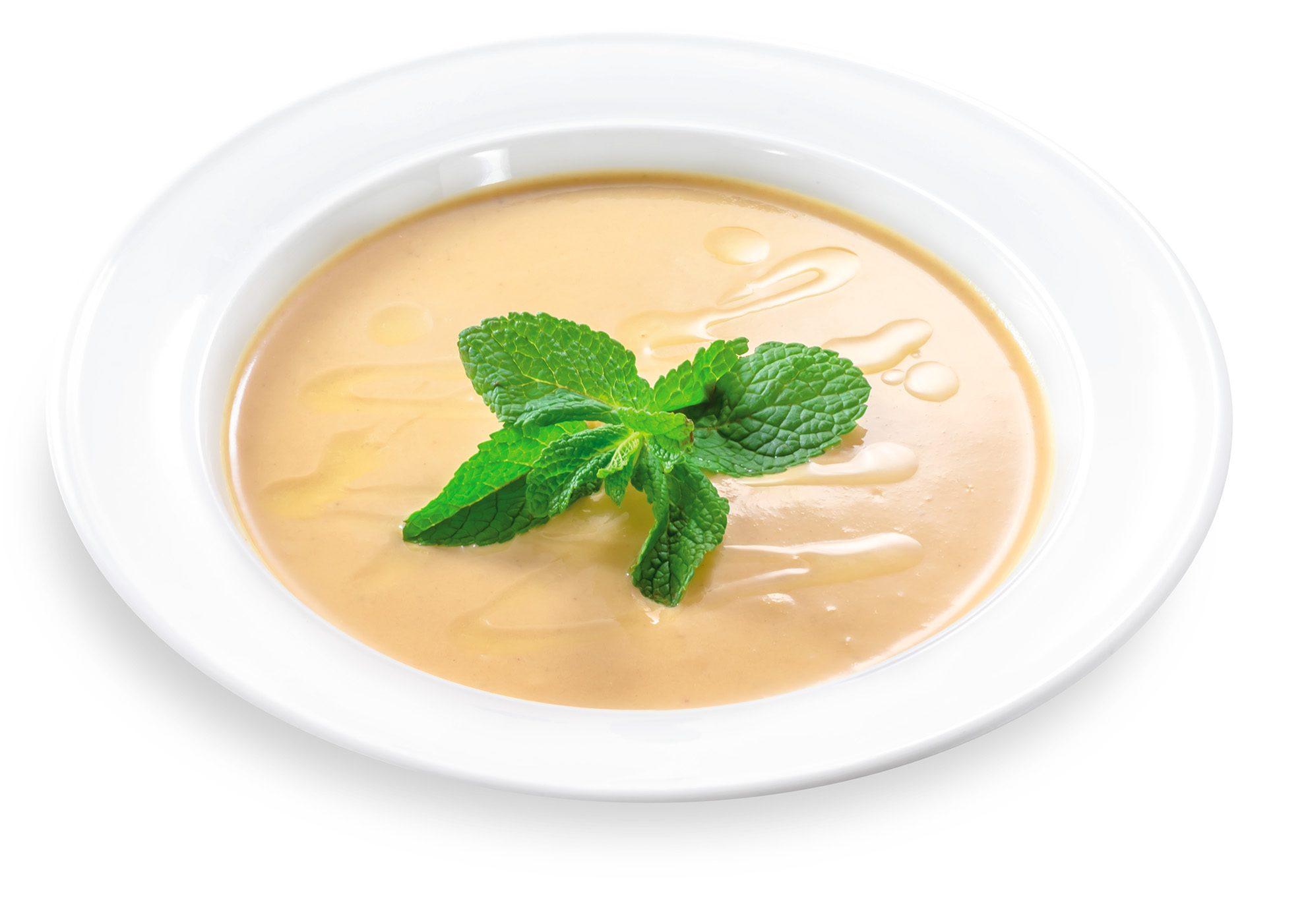 Суп пюре з сочевицею